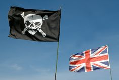 Unione del pirata Fotografie Stock Libere da Diritti