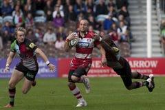 2011 unione di rugby di Aviva Premiership, arlecchini v Gloucester, settembre Fotografie Stock