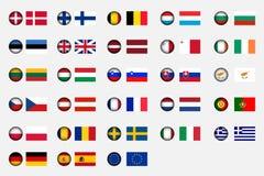 Unione Europea illustrazione di stock