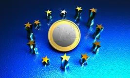 Unione Europea Immagine Stock Libera da Diritti