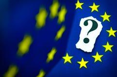 Unione Europea Fotografia Stock