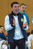 Unione europea KWU del mondo di Kyokushin di campionato per i bambini e la gioventù 2017 Immagini Stock