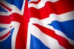 Unione Jack Flag Fotografie Stock
