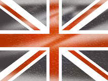 Unione Jack Means English Flag And Inghilterra Fotografia Stock
