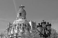 Unionen och Fenixen, Barcelona, Catalonia, Spanien arkivfoto