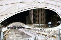 Unionstation, i stadens centrum Denver arkivbilder