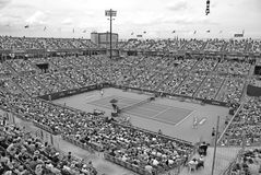 Uniprix stadion Arkivbild