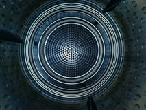 Uniqe abstract texture or a washing machine? royalty free stock photo
