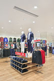 Uniqlo outlet interior, Livat Shopping Mall, Beijing, China Royalty Free Stock Photography