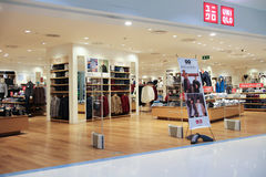 Uniqlo store  at Central airport plaza chiang mai. Royalty Free Stock Photography