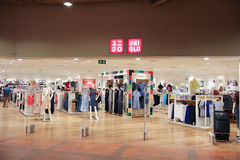 Uniqlo store  at Central airport plaza chiang mai. Stock Photos