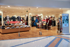 Uniqlo store  at Central airport plaza chiang mai. Stock Image