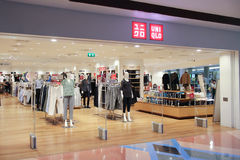 Uniqlo store  at Central airport plaza chiang mai. Stock Images