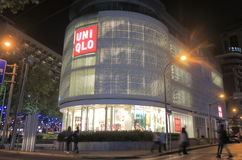UNIQLO store Japanese apparel in Shanghai China Stock Photo