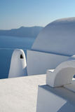Unique. Architecture of Santorini Island, Greece Royalty Free Stock Photography