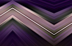 Abstract violet background of colored strips. Vector. Unique abstract illustration and decoration. Texture of painted paper. Violet, white and green colors on a vector illustration