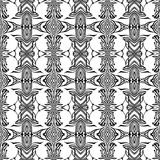 Unique, abstract pattern. Made with unique drawings Stock Photos