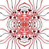 Unique, abstract pattern. Made with unique drawings Royalty Free Stock Image