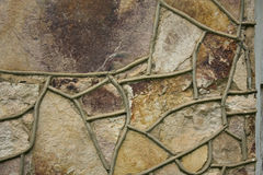 Unique abstract rock background Stock Photography