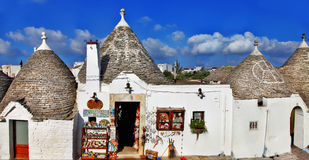 Unique  Alberobello, Italy Stock Photo