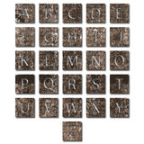 Unique alphabet set Royalty Free Stock Photos