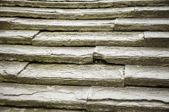 Unique, ancient, solid stone stairs Stock Photo