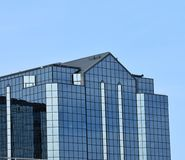 Unique architectual building. With glass windows Royalty Free Stock Images