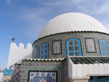 Unique architecture. In Tunisia Royalty Free Stock Images
