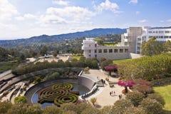 Getty Center, Modern Building and Landscape Garden, Los Angeles, California, USA