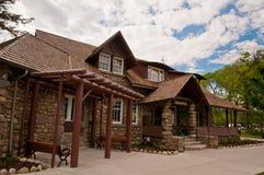 Unique architecture in Jasper Royalty Free Stock Photo