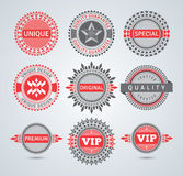 Unique badges Royalty Free Stock Image