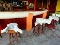 A unique bar in the caribbean Stock Photos