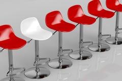 Unique bar stool Stock Images