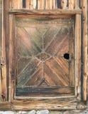 Unique Barn Door Royalty Free Stock Photography