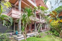 Unique and Beautiful exterior garden villa Stock Photography