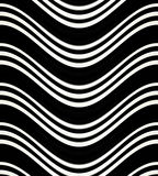 Unique black and white pattern for background, wallpaper or backdrop. Stock Images
