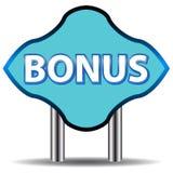 Unique bonus icon Stock Images