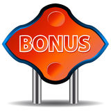 Unique bonus icon Stock Photo