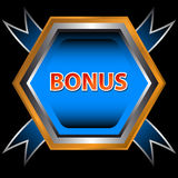 Unique bonus icon Royalty Free Stock Photo