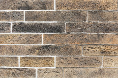 Unique brick wall texture. Background of brick wall texture Stock Photography