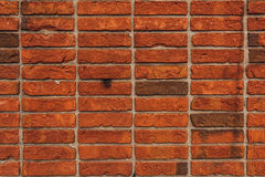 Unique brick wall texture, stacking method for bricklaying. In building and construction industry Stock Photo