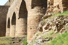 Unique bridge on Velhartice Castle Stock Photo