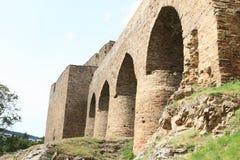 Unique bridge on Velhartice Castle Royalty Free Stock Image