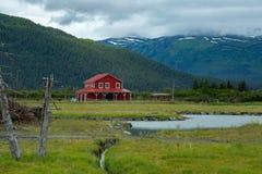 Unique buildings in Alaska Stock Images