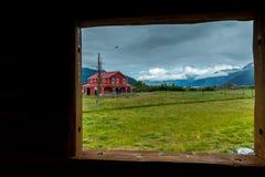 Unique buildings in Alaska Royalty Free Stock Photos