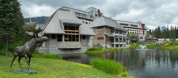 Unique buildings in Alaska Stock Photos