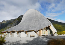 Unique Buildings, Jostedal, Norway Royalty Free Stock Photo
