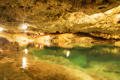 Unique cenote Stock Image