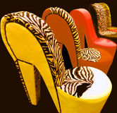 Unique Chair Royalty Free Stock Photography