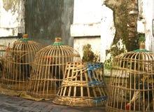 Unique chicken cage Royalty Free Stock Photos
